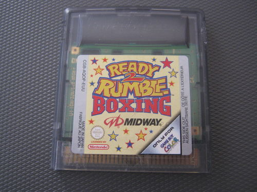 READY 2 RUMBLE BOXING 2 für NINTENDO GAMEBOY COLOR
