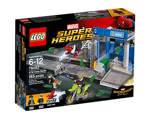 Lego Super Heroes 76082 Action am Geldautomaten