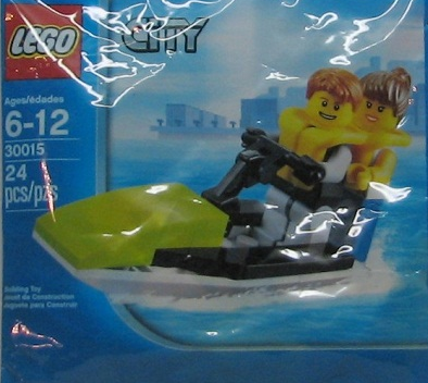 Lego City 30015 Jet Ski Polybag