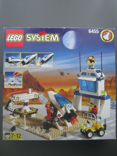 Lego System 6455 Space Simulation Station