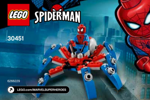 Lego Super Heroes 30451 Spider-man Mini Spider Crawler