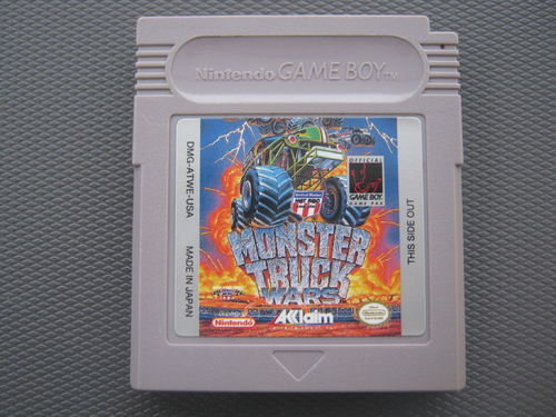 MONSTER TRUCK für GAMEBOY