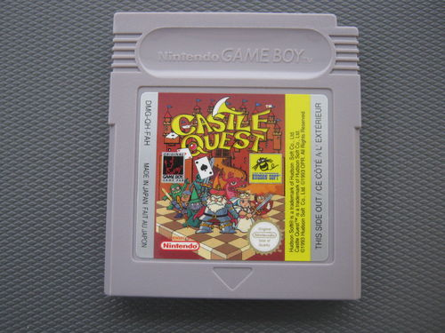CASTLE QUEST für GAMEBOY