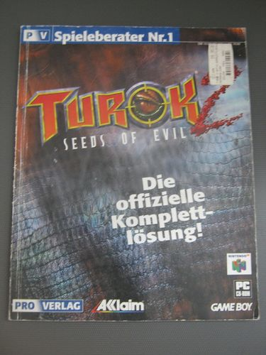 Spieleberater: TUROK 2 SEEDS OF EVIL