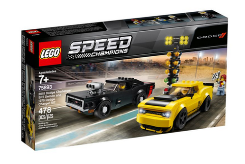 Lego Speed Champions 75893 Dodge Challenger / Charger