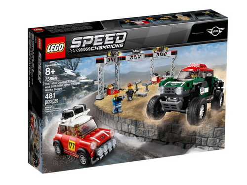 Lego Speed Champions 75894 Mini Cooper