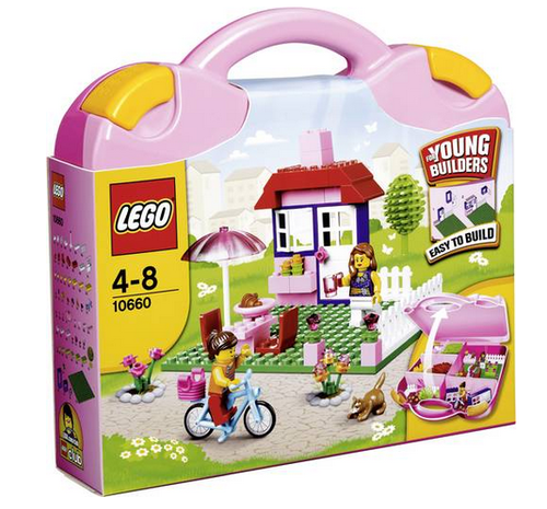 Lego Young Builders 10660 Pinkfarbener Koffer