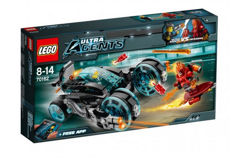 Lego Ultra Agents 70162 Infearnos Interceptor