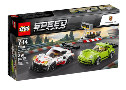 Lego Speed Champions 75888 Porsche 911 RSR und 911 Turbo 3.0