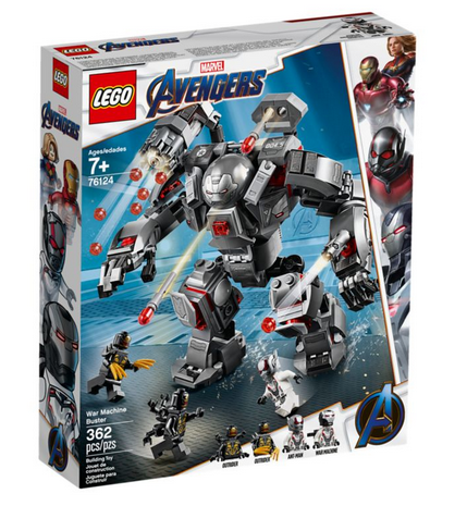 Lego Avengers 76124 War Machine Buster