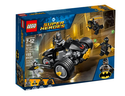 Lego Super Heroes 76110 Batman Attacke der Talons