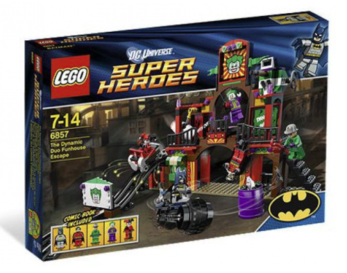 Lego Super Heroes 6857 Dynamic Duo Funhouse Flucht