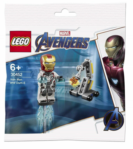 Lego Marvel Avengers 30452 Iron Man and Dum-E