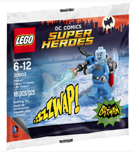 Lego Super Heroes 30603 Mr. Freeze Polybag