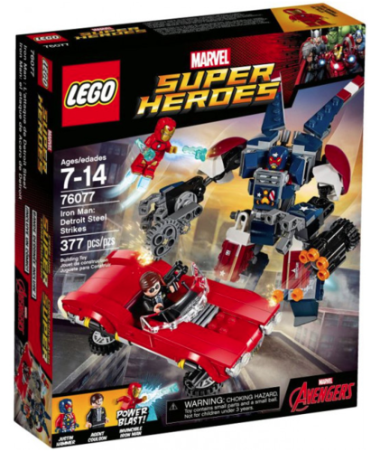 Lego Super Heroes 76077 Iron Man gegen Detroit Steel