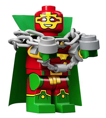 Lego Minifigur 71026 DC Super Heroes Nr.1 Mister Miracle