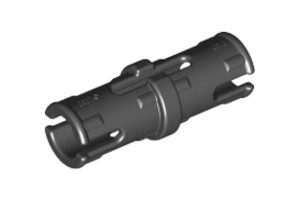 Connector Peg W. Friction Black
