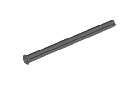 Cross Axle 8M With End Stop Dark Stone Grey