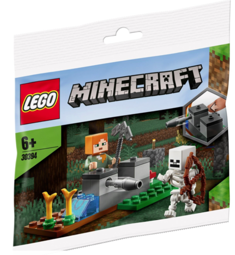 Lego Minecraft 30394 The Skeleton Defense Polybag