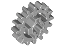 Gear Wheel Z16 Medium Stone Grey