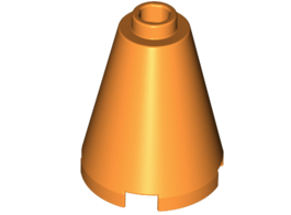 Nose Cone 2X2X2 Bright Orange