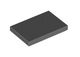 Flat Tile 2X3 Dark Stone Grey