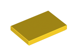Flat Tile 2X3 Bright Yellow