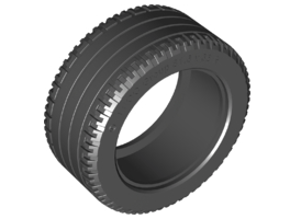 Tyre Normal Wide Ø 81/36 Black