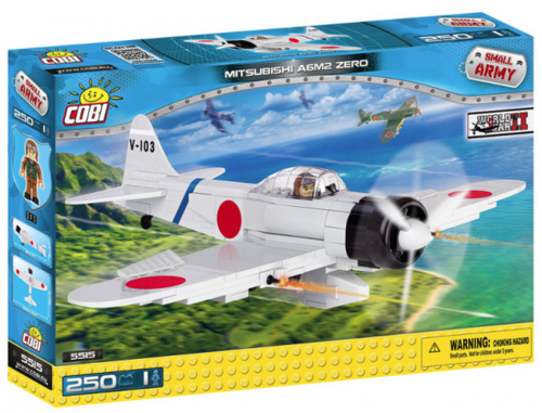 COBI Historical Collection 5515 Mitsubishi A6M2 Zero