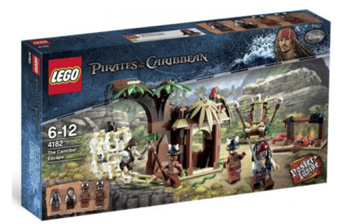 Lego Pirates of the Caribbean 4182 Flucht vor den Kannibalen