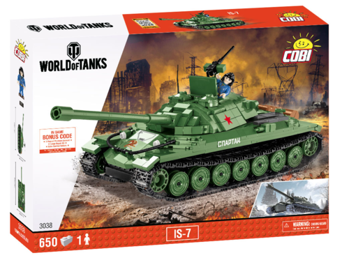 COBI 3038 World of Tanks: IS-7