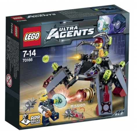 Lego Ultra Agents 70166 Spyclops-Infiltration