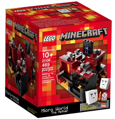 Lego Minecraft 21106 The Nether