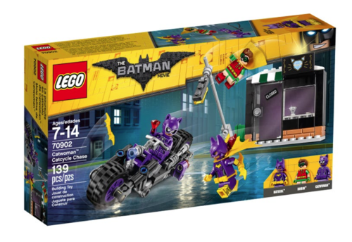 Lego Batman Movie 70902 Catwoman Catcycle-Verfolgungsjagd