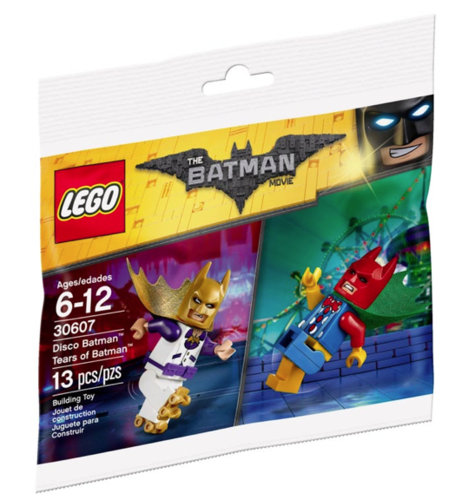 Lego Batman Movie Disco Batman Tears of Batman Polybag