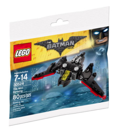 Lego Batman Movie 30524 The Mini Batwing Polybag