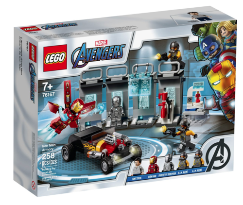 Lego Marvel Avengers 76167 Iron Mans Arsenal
